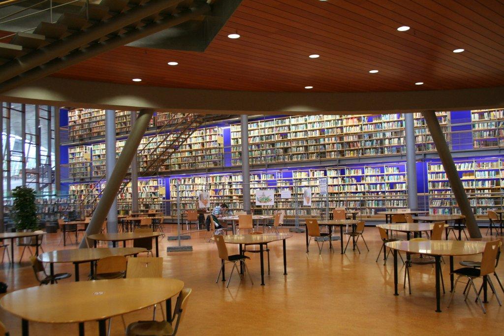 Lane Tech Library