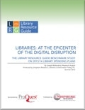 Libraries: At the Epicenter of the Digital Disruption