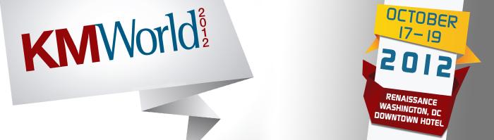 KMWorld 2012