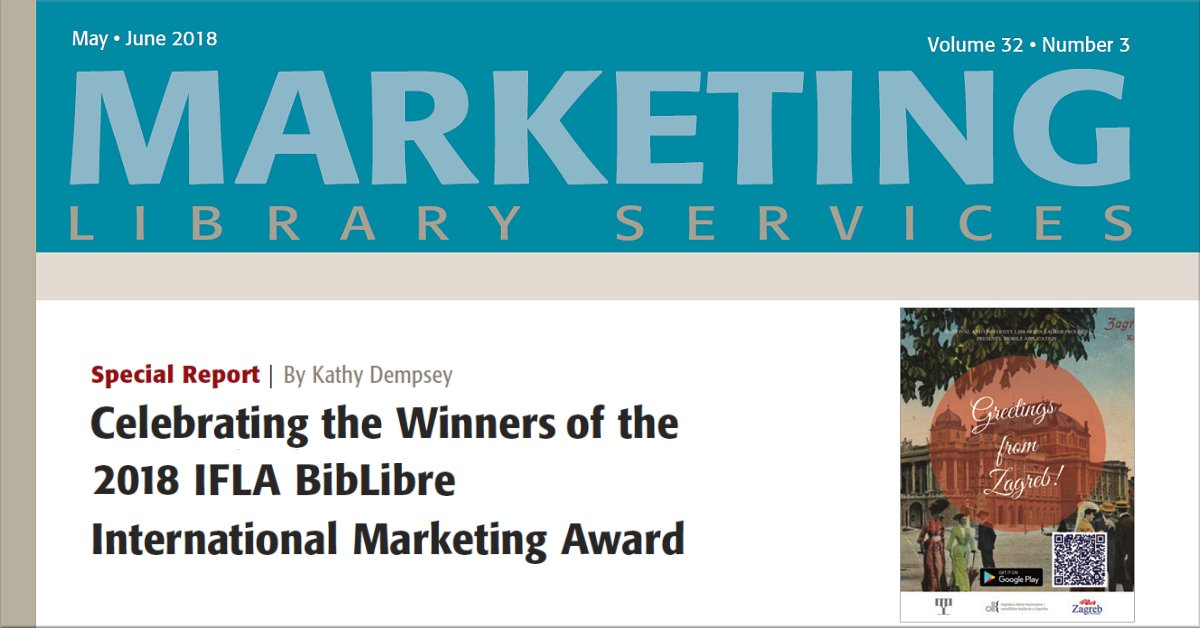 SPECIAL REPORT: Celebrating the Winners of the 2018 IFLA BibLibre