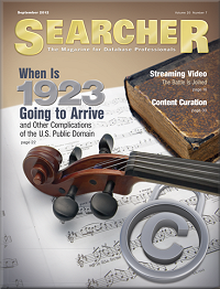 September cover of Searcher Magazine